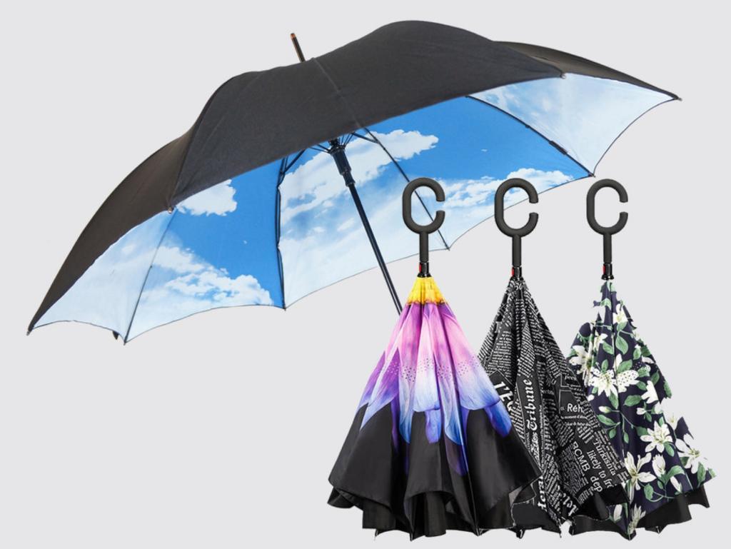 まじヤバくないっすか?なんですかこの傘?2016年最高の発明高機能ナノコーティング付き逆さ傘Suprellaがすごい!