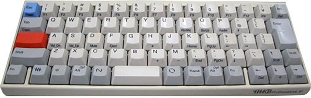 プレゼントにも最適!あなたのキーボードもシャア専用!HHKから赤キーが絶賛販売中!