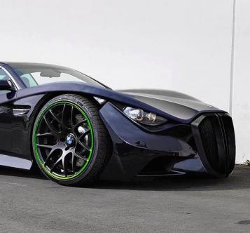 次期Z5か?BMWのZシリーズコンセプトデザイン