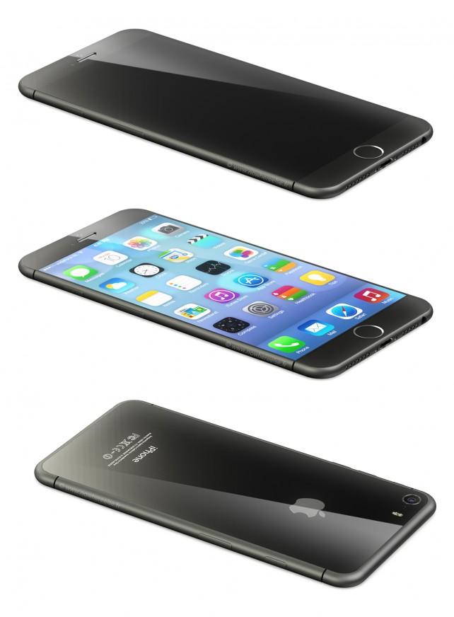 最新の「iPhone6」コンセプトは、湾曲したデザインが特徴らしい