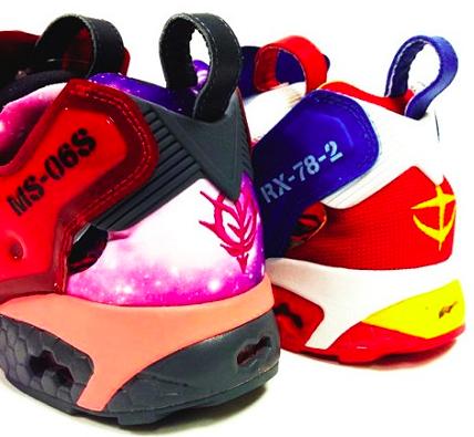 足の速さも3倍になる?リーボックからガンダムとシャア専用の靴が発売予定?