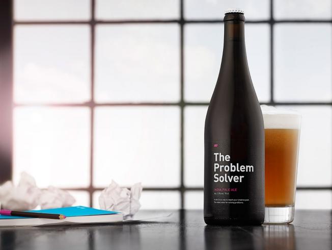 これは面白い!想像力・発想力を向上?させるビール「The Problem Solver」