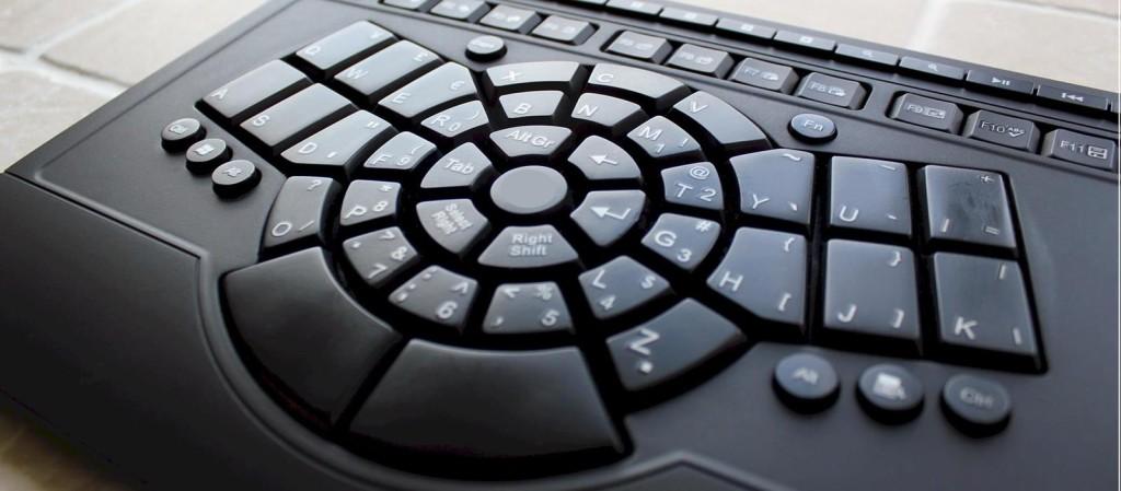 四角いキーボードなんて古い!これからのキーボードは Bee Raiderで決まり